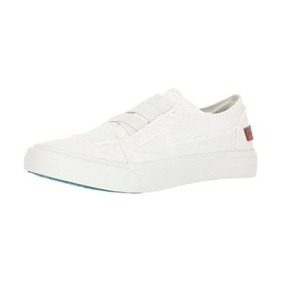 Blowfish Women's Marley Canvas White Ankle-High Fashion Sneaker - 8.5M