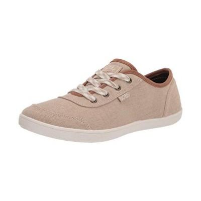 Skechers womens Slip on Sneaker, Taupe, 6 US