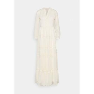 ヤス レディース ワンピース トップス YASBLASSY MAXI DRESS  - Maxi dress - pearled ivory pearled ivory