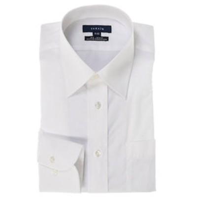 形態安定レギュラーフィットブロードレギュラーカラービジネスドレスシャツ