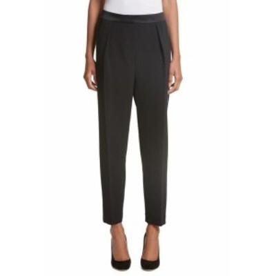 Roksanda ロクサンダ ファッション パンツ Roksanda NEW Black Womens Size 8 Stretch Pleated Dress Pants