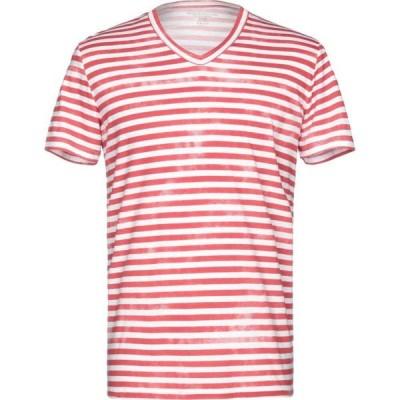 マジェスティック MAJESTIC FILATURES メンズ Tシャツ トップス t-shirt Red