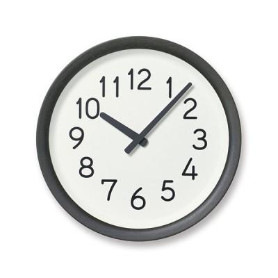 Lemnos(レムノス)掛時計 Day To Day Clock(デイ トゥ デイ クロック) ブラック