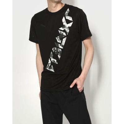 プーマ PUMA メンズ サッカー/フットサル 半袖シャツ NXT HYBRID SS Tシャツ 657447 (ブラック)