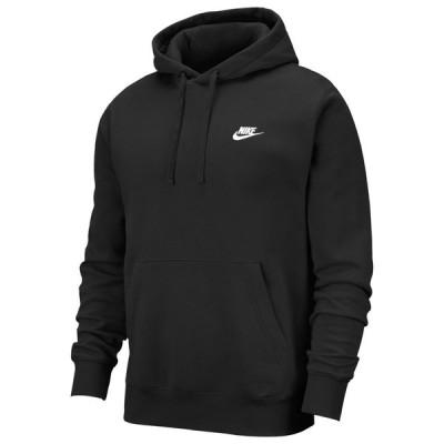ナイキ Nike メンズ パーカー トップス Club Pullover Hoodie Black/White