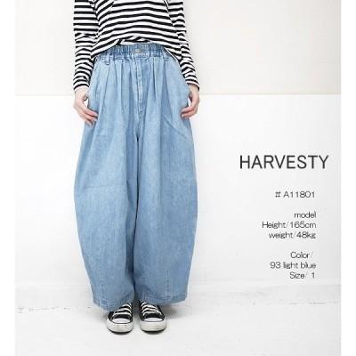 HARVESTY A11801 ハーベスティ サーカスパンツ デニム 10oz ライトブルー サイズ 0 1 2