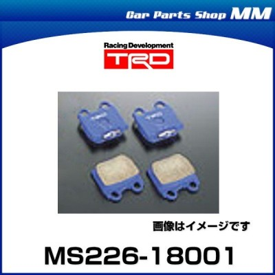 "TRD MS226-18001 ブレーキパッド ""Blue"" リヤ 86(ZN6(GT、GT Limited))"
