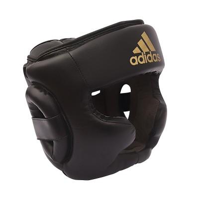 adidas (アディダス) スピード ヘッドガード ウィズ チンプロテクション M BLK ADISBHG041