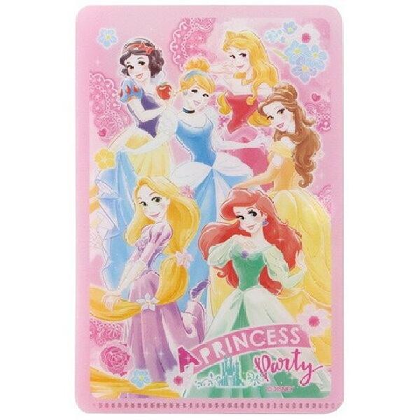小禮堂 迪士尼 公主 兒童扣式口罩夾 面紙包 口罩包 口罩套 口罩收納 (粉 玫瑰) 4973307-52933