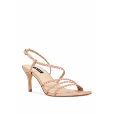 ナインウェスト レディース パンプス シューズ Game Braided Dress Sandals Light Pink