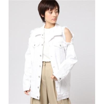 L.H.P WOMEN / Chica/チカ/Damege Denim Jacket WOMEN ジャケット/アウター > デニムジャケット