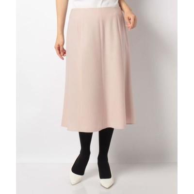 LAPINE BLANCHE/ラピーヌ ブランシュ サキソニー ストレッチスカート ピンク 40