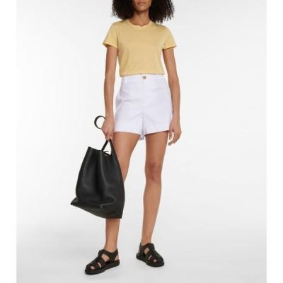 ヴィンス Vince レディース Tシャツ トップス Pima cotton jersey T-shirt Pale Sun