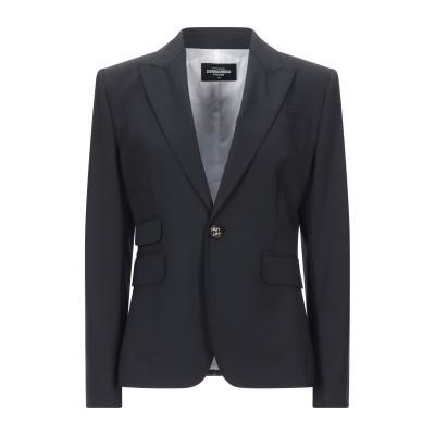 ディースクエアード DSQUARED2 テーラードジャケット ブラック 44 バージンウール 95% / ポリウレタン 5% テーラードジャケット