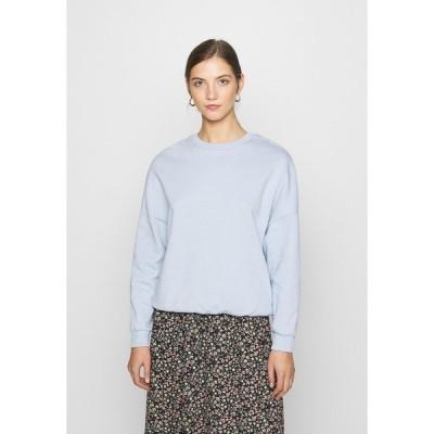 エブンアンドオッド パーカー・スウェットシャツ レディース アウター Oversized Sweatshirt - Sweatshirt - blue