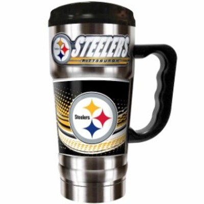 Great American Products ゲット アメリカン プロダクツ スポーツ用品  Pittsburgh Steelers Silver The Champ 20 oz