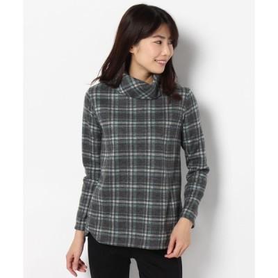 tシャツ Tシャツ シャギーチェックプルオーバー