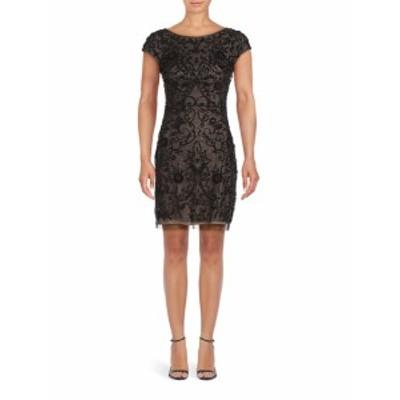 エイダンマトックス レディース ワンピース Beaded Mini Dress