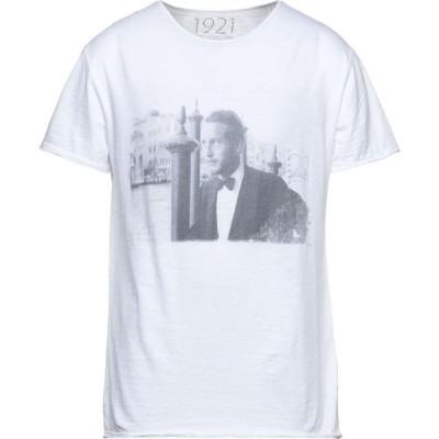 1921 メンズ Tシャツ トップス T-Shirt White