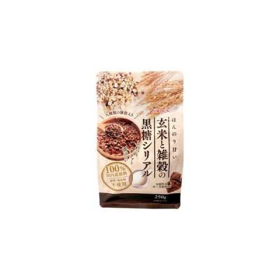 玄米と雑穀の黒糖シリアル250g