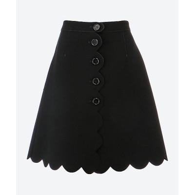 <RED Valentino/レッド ヴァレンティノ> スカート ブラック【三越伊勢丹/公式】