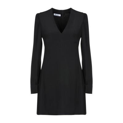 ドンダップ DONDUP ミニワンピース&ドレス ブラック 40 アセテート 50% / レーヨン 50% ミニワンピース&ドレス