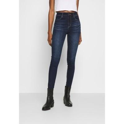 アメリカンイーグル デニムパンツ レディース ボトムス RISE JEGGING - Jeans Skinny Fit - blue denim