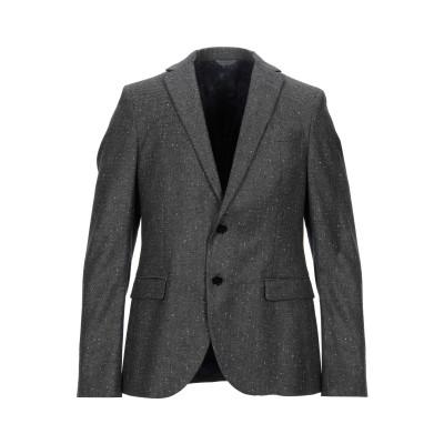 マニュエル リッツ MANUEL RITZ テーラードジャケット 鉛色 50 スーパー110 ウール 100% テーラードジャケット