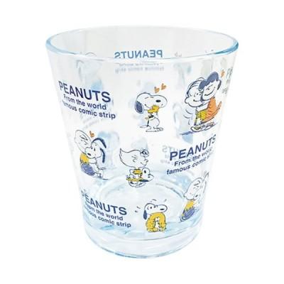 プラスト ツジセル/スヌーピー カラークリスタルカップ コップ/ビーグルハグ 4801675(取/ギフト不可)