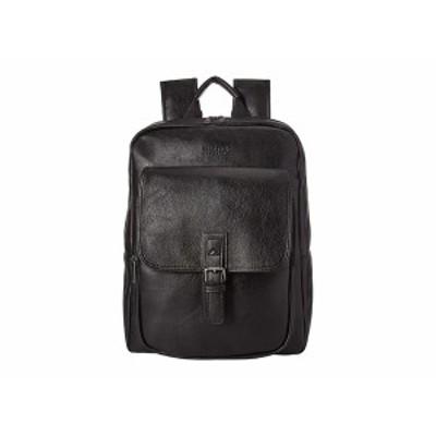 ケネスコール メンズ バックパック・リュックサック バッグ Faux Leather Computer Travel Backpack Black