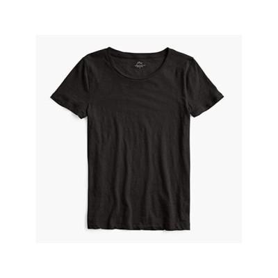 J.Crew Vintage Cotton Crew Neck T-Shirt レディース シャツ トップス Black