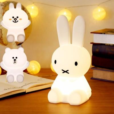 ミッフィー ライト  調光  新登場 子供部屋 おしゃれ 北欧 シンプル 可愛い ベッドサイド LED ランプ USB 充電 グッズ おしゃれ プレゼント 出産祝い 誕生日プレゼント  授乳ライト