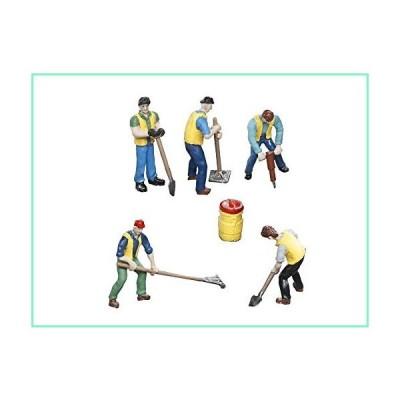 Lionel 683171 Mow Workers フィギュアパック Oゲージ レッド イエロー ブルー グリーン ブラウン ブラック【並行輸入