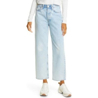 ラグ&ボーン RAG & BONE レディース ジーンズ・デニム ボトムス・パンツ Maya High Waist Ankle Straight Leg Jeans Agate