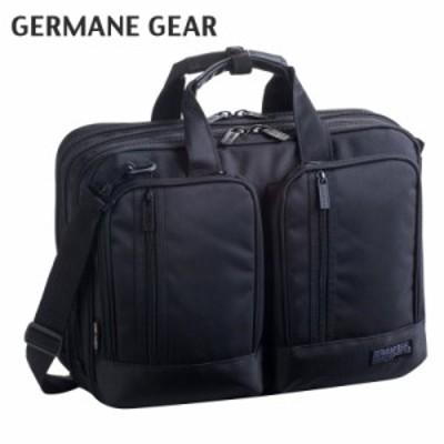 メンズ  紳士 ビジネスバッグ ジャーメインギア 太番手ビジカジシリーズ 3WAY リュック ショルダー ビジネスバッグ 黒 26500