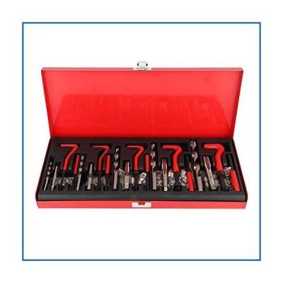 <新品>Gorgeri Car 131 Pcs Thread Repair Tool Kit Restore Damaged Threads Fit for M5 M6 M8 M10 M12<並行輸入品>