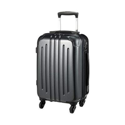 [エー・エル・アイ] スーツケース ハードキャリー 機内持ち込み可 29L 2.6kg カーボンブラック