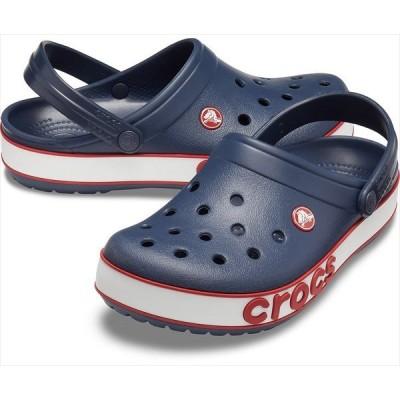 [crocs]クロックス クロックバンド ボールドロゴ クロッグ (206021)(4CC) ネイビー/ペッパー[取寄商品]