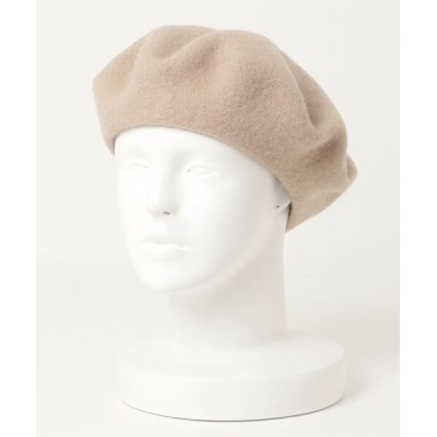 おしゃれスタ / WOOL BERET(ST) WOMEN 帽子 > ハンチング/ベレー帽