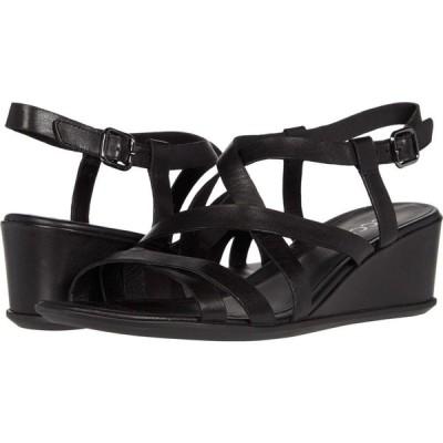 エコー ECCO レディース サンダル・ミュール ウェッジソール シューズ・靴 Shape 35 Wedge Sandal Black Cow Leather