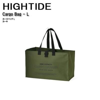 【HIGHTIDE/ハイタイド】 カーゴバッグ Lサイズ カーキ 品番:EZ032 KH