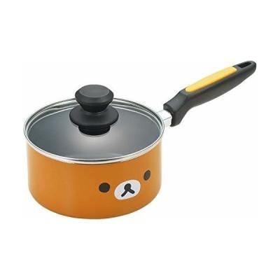 タマハシ(Tamahashi) 片手鍋 オレンジ IH対応 アルミ片手鍋 16cm 「リラックマ」 RK-42