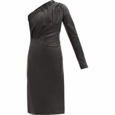 ドド バー オア Dodo Bar Or レディース ワンピース ワンショルダー ワンピース・ドレス Gorgiee asymmetric one-shoulder leather dress