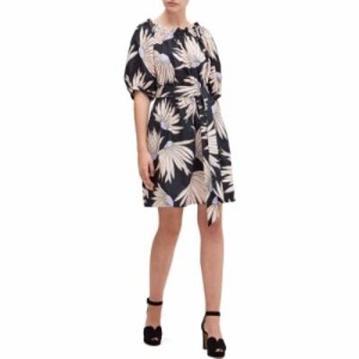 ケイト スペード Kate Spade New York レディース ワンピース ワンピース・ドレス Falling Flower Dress Black