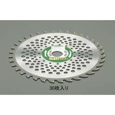 【送料無料】エスコ 230mmx36T 超硬チップソー(草刈機用/30枚)(品番:EA898B-61)