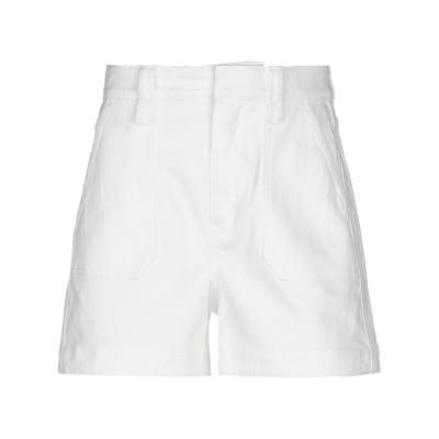 クロエ CHLOÉ デニムショートパンツ ホワイト 34 コットン 99% / ポリウレタン 1% デニムショートパンツ