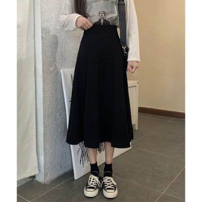 スカート 【URGE:】 フレア ロング スカート