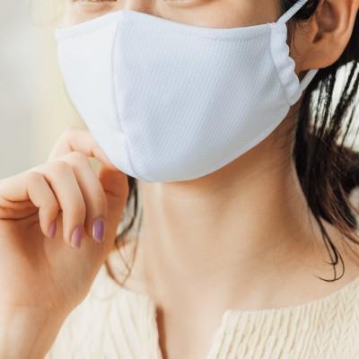 ぬらして振ってクールダウン ひんやりメッシュ 抗菌防臭マスクセットの会 フェリシモ FELISSIMO