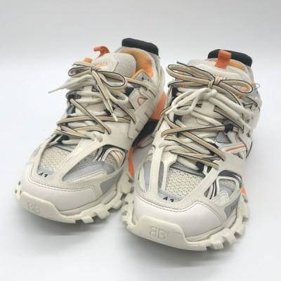 バレンシアガ TRACK TRAINERS 542023 トラックトレーナー スニーカー シューズ メンズ サイズ41 27cm相当 ホワイト BALENCIAGA 靴 B4688◆