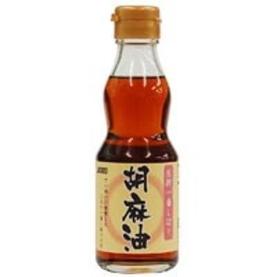 圧搾一番しぼり 胡麻油(165g)【ムソー】